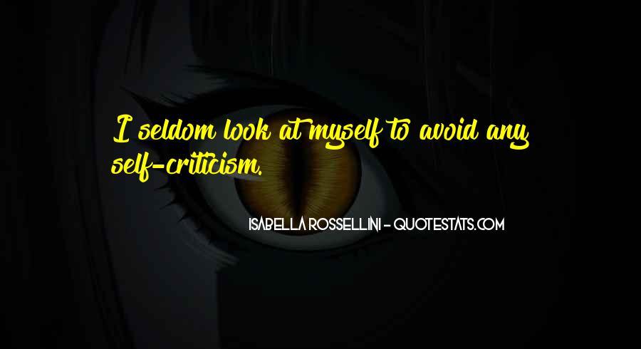 Isabella Rossellini Quotes #967726