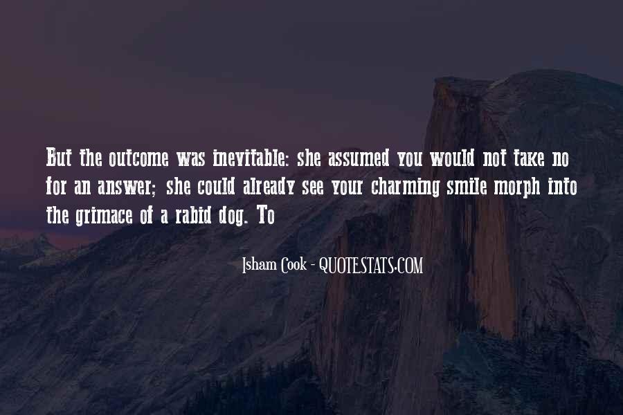 Isham Cook Quotes #556226