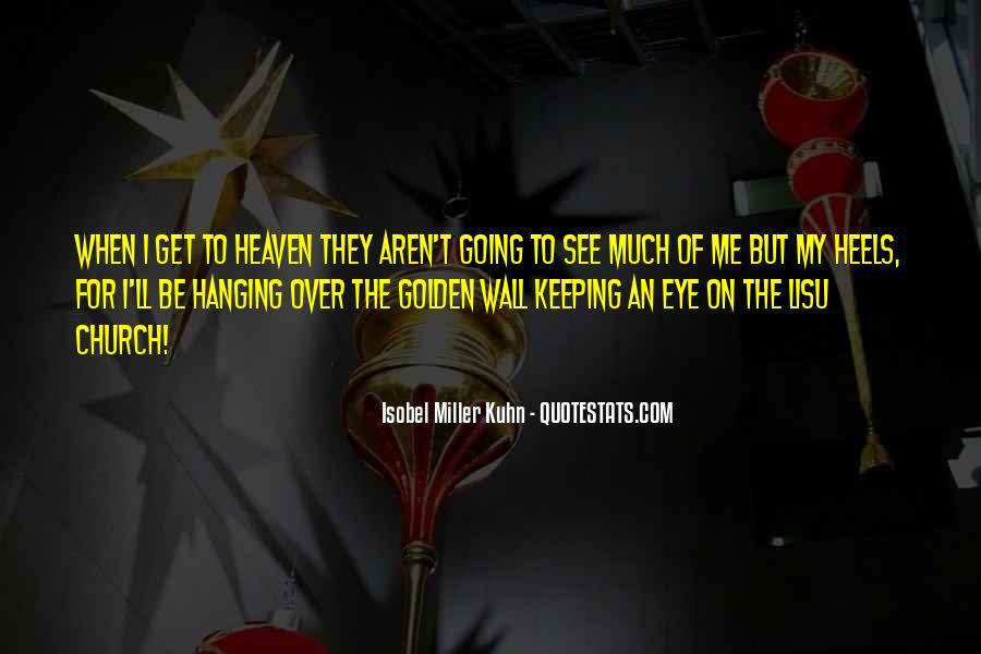 Isobel Miller Kuhn Quotes #1242695
