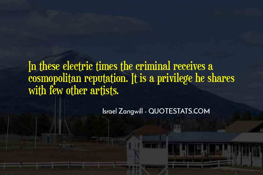Israel Zangwill Quotes #1108520