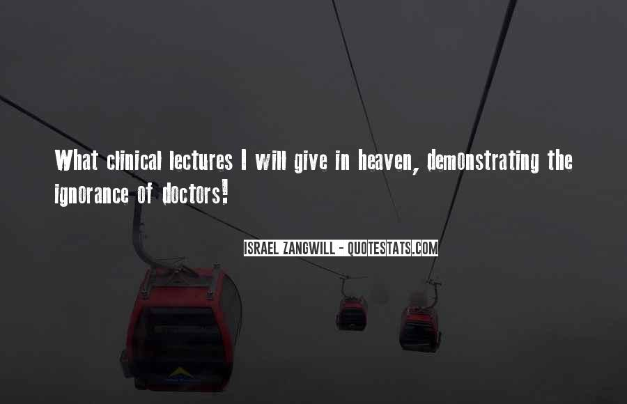 Israel Zangwill Quotes #1610725