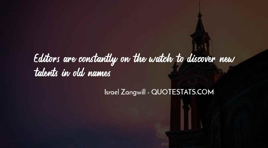Israel Zangwill Quotes #1859001