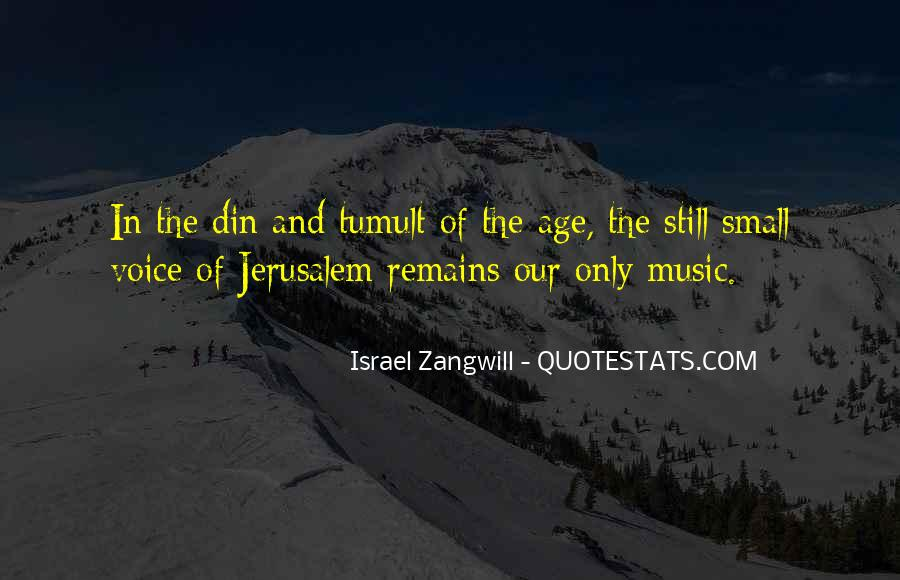 Israel Zangwill Quotes #627270