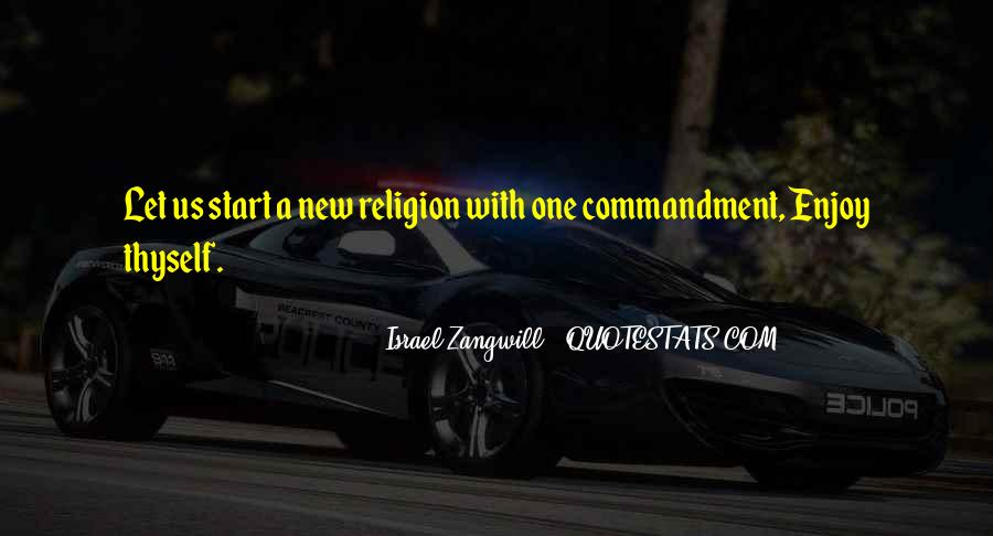 Israel Zangwill Quotes #833466