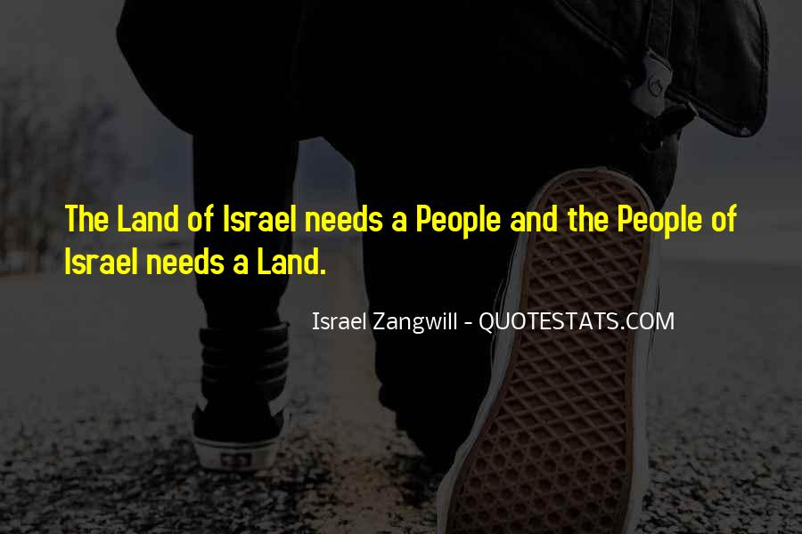 Israel Zangwill Quotes #932798