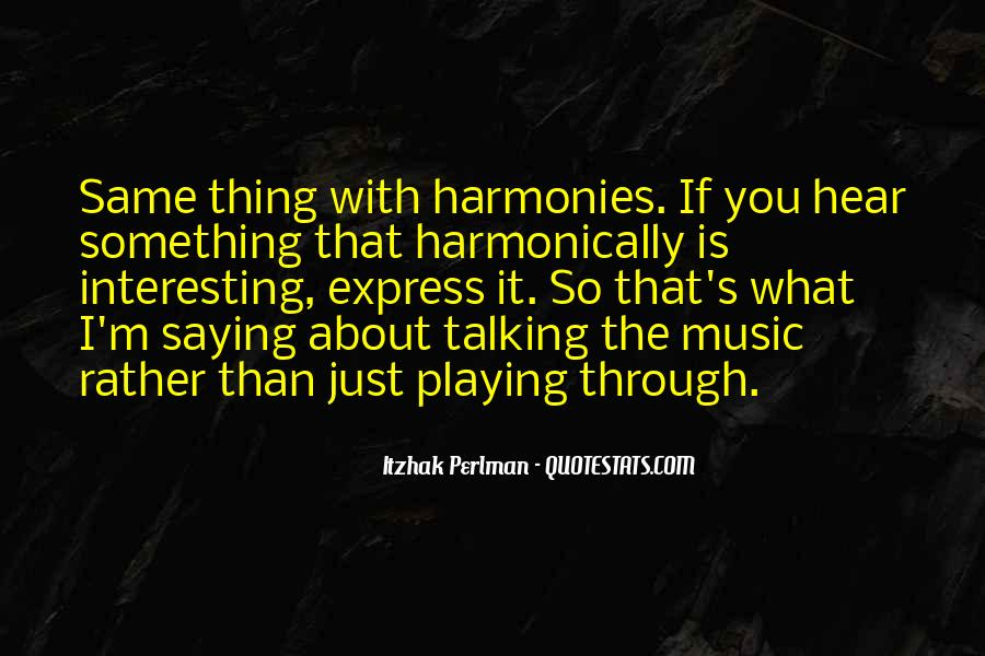 Itzhak Perlman Quotes #378821