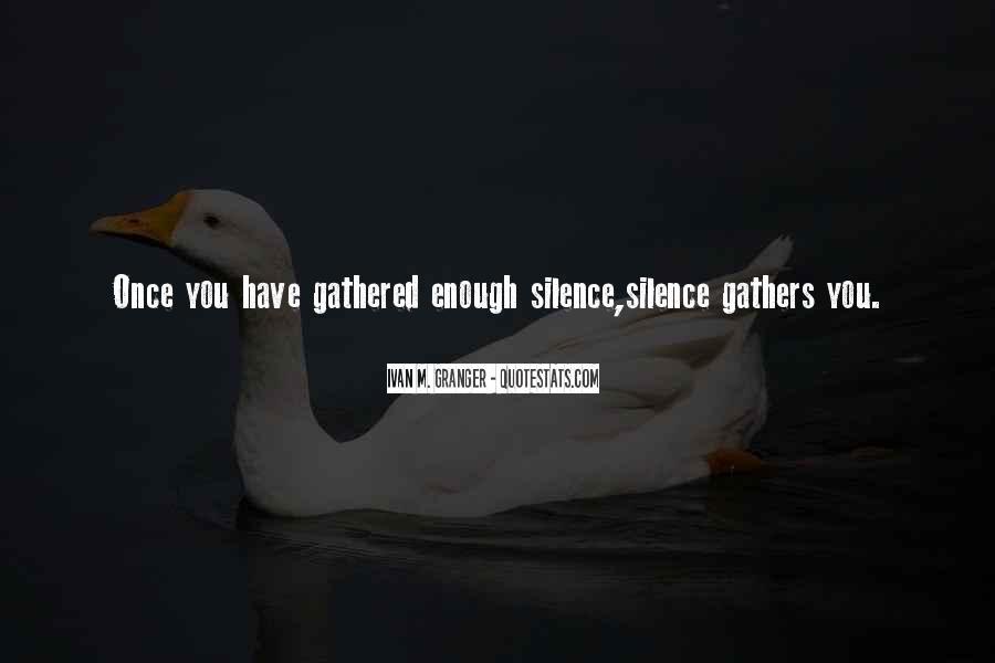 Ivan M. Granger Quotes #1173895