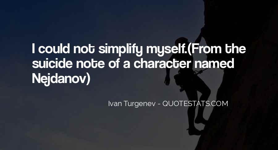 Ivan Turgenev Quotes #1118538