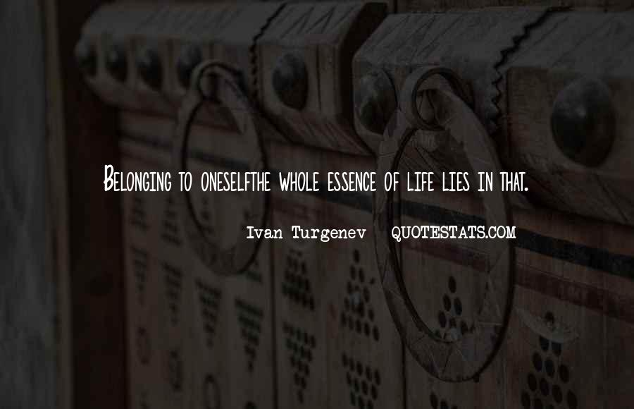 Ivan Turgenev Quotes #1392106
