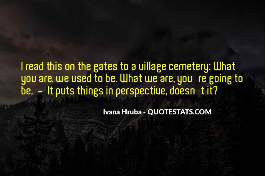 Ivana Hruba Quotes #121112