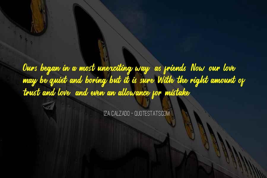 Iza Calzado Quotes #116052