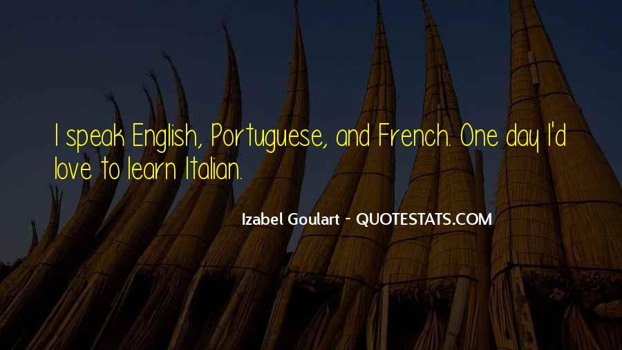 Izabel Goulart Quotes #1487286