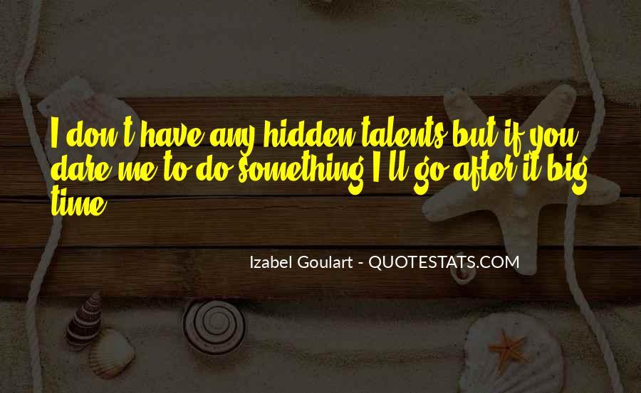 Izabel Goulart Quotes #378788