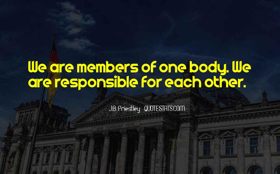 J.B. Priestley Quotes #1186669