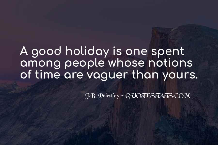 J.B. Priestley Quotes #1196008