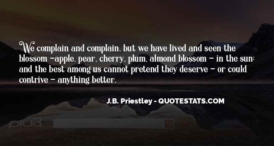 J.B. Priestley Quotes #1235232