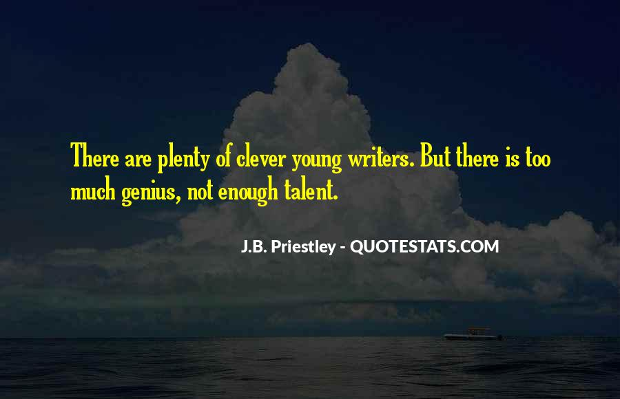 J.B. Priestley Quotes #1269657