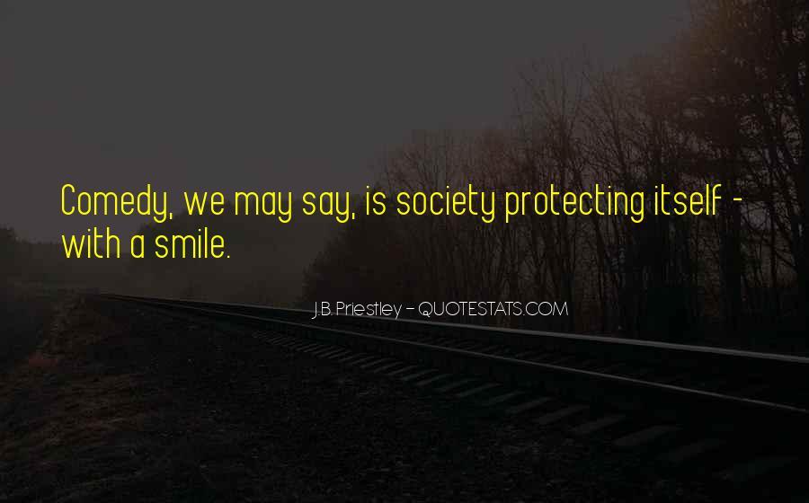 J.B. Priestley Quotes #1296871