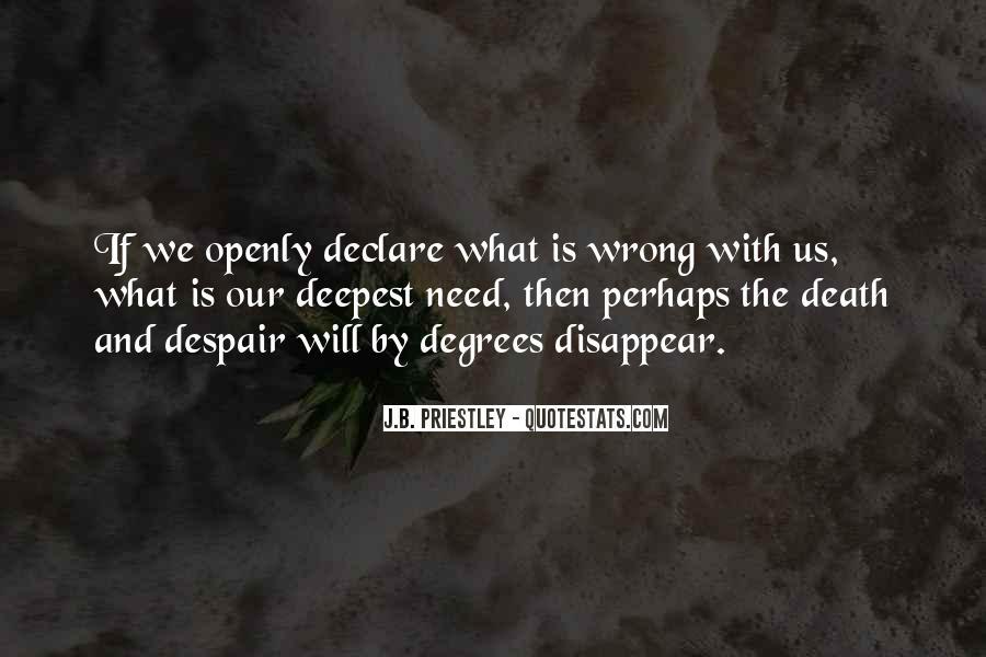 J.B. Priestley Quotes #1524684