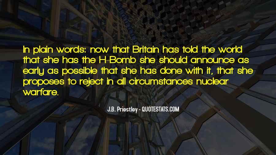 J.B. Priestley Quotes #162081