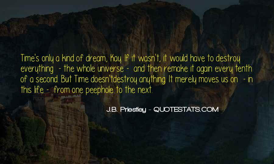 J.B. Priestley Quotes #1660697
