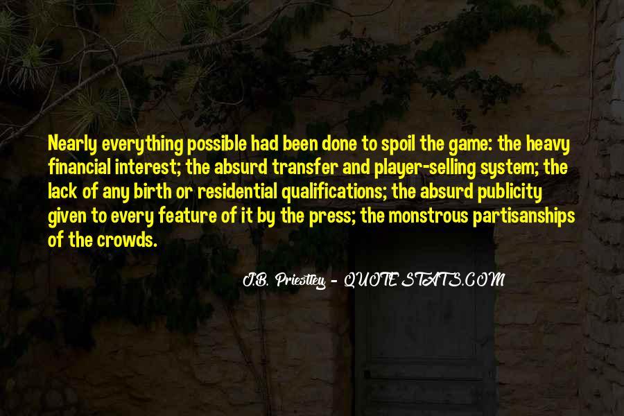 J.B. Priestley Quotes #193109