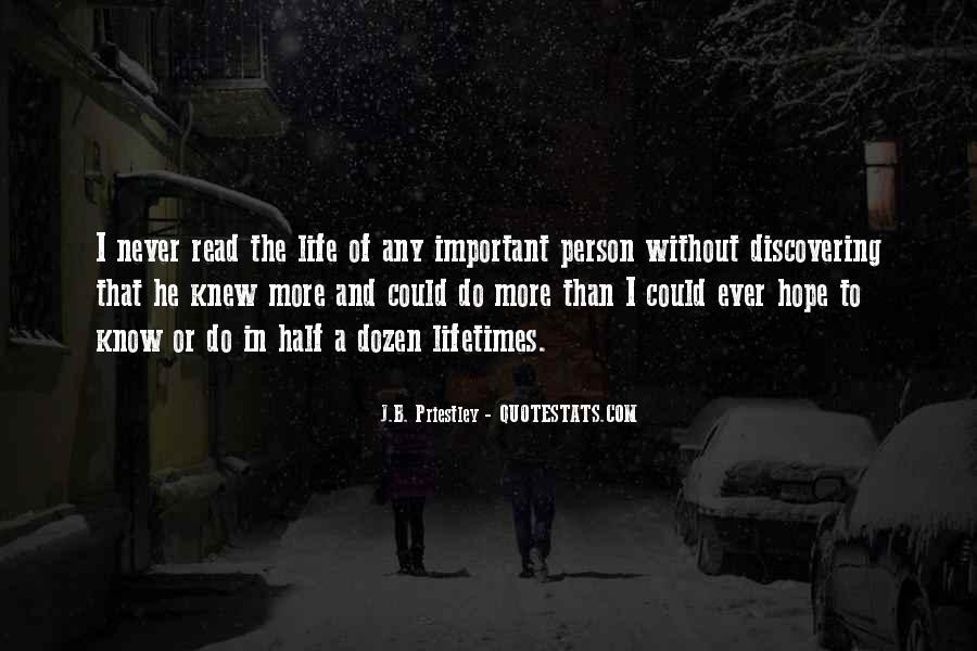 J.B. Priestley Quotes #371622