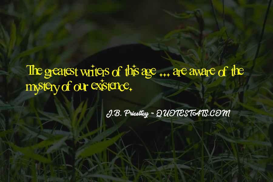 J.B. Priestley Quotes #432635