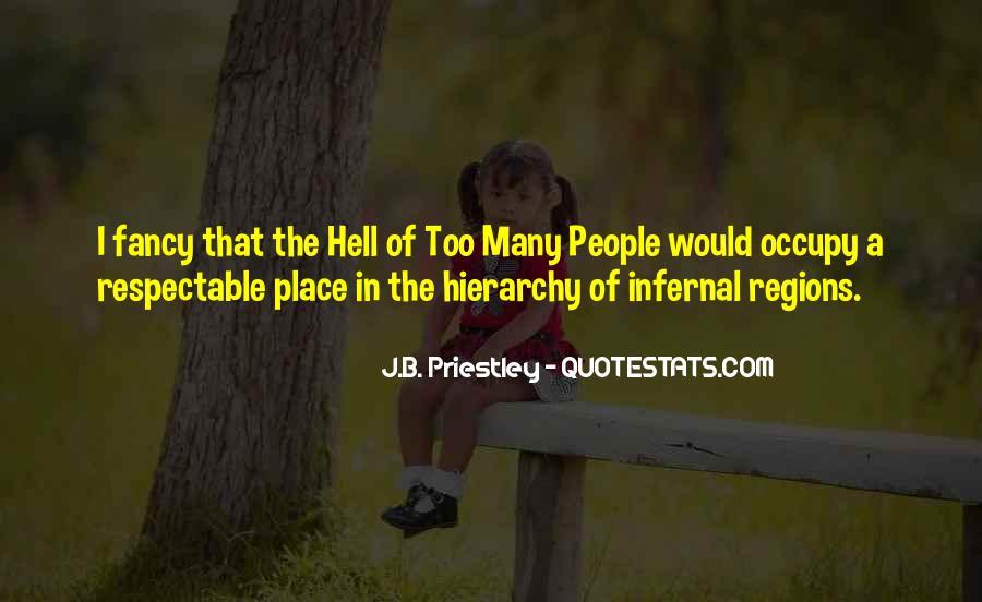 J.B. Priestley Quotes #488095