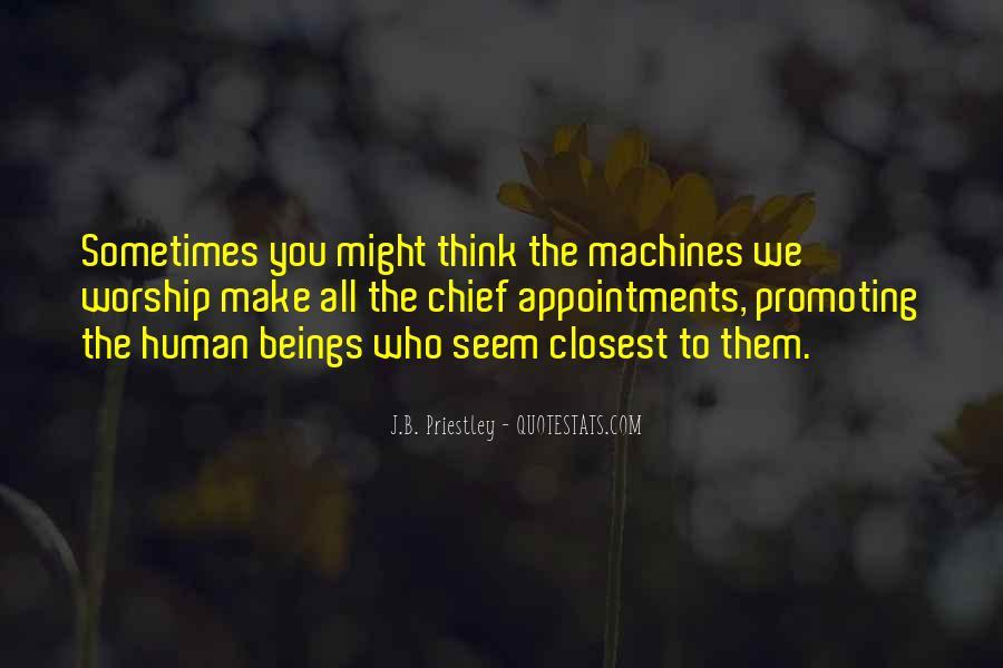 J.B. Priestley Quotes #564257