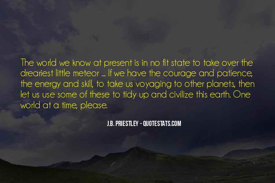 J.B. Priestley Quotes #625347