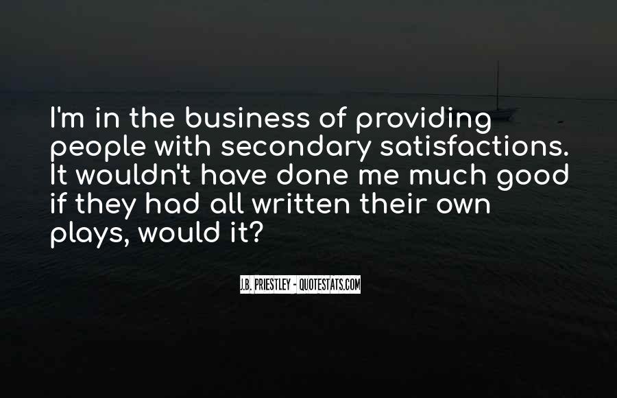 J.B. Priestley Quotes #896186