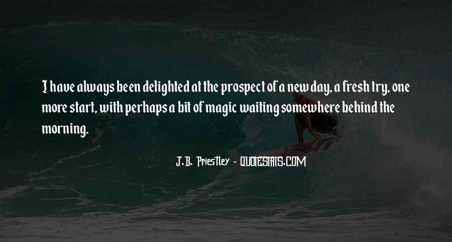 J.B. Priestley Quotes #927160