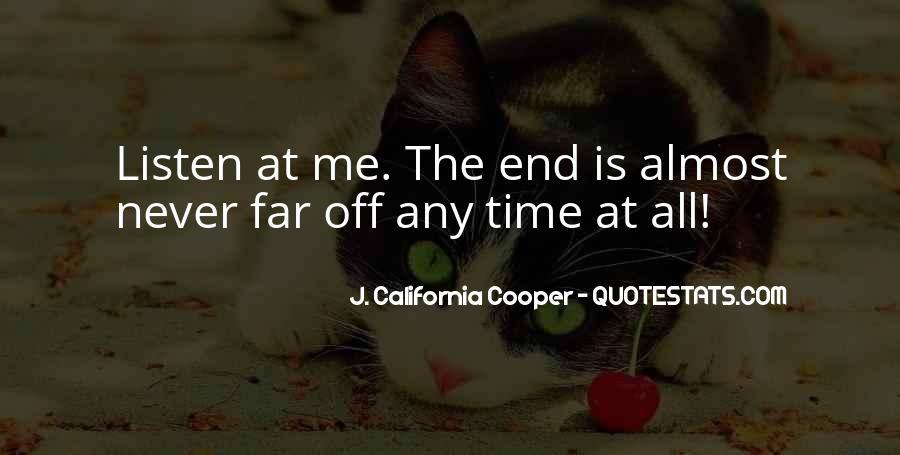 J. California Cooper Quotes #301861