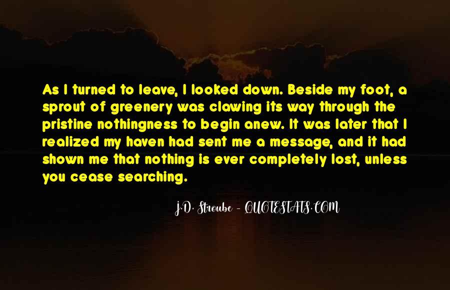 J.D. Stroube Quotes #1045006
