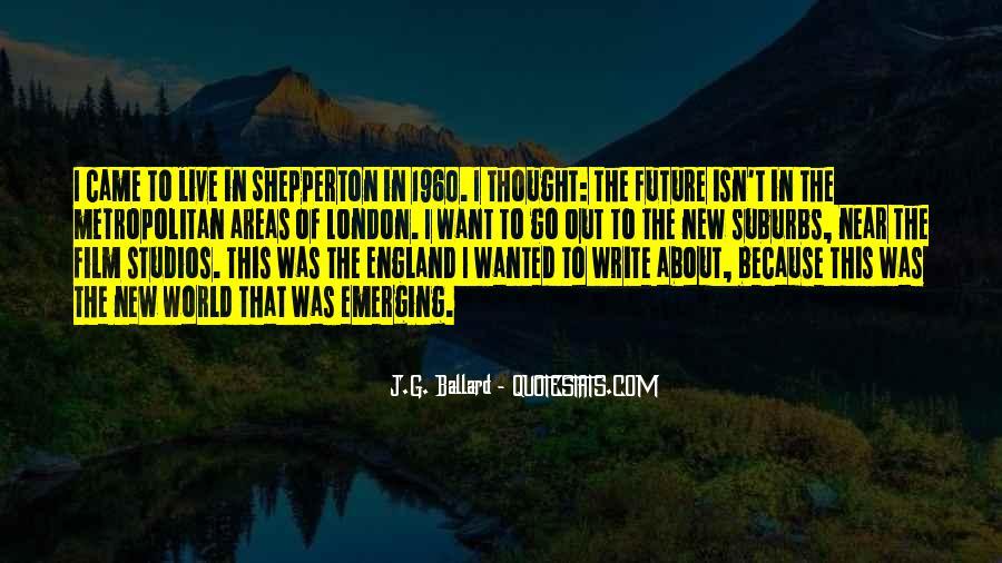 J.G. Ballard Quotes #1051402