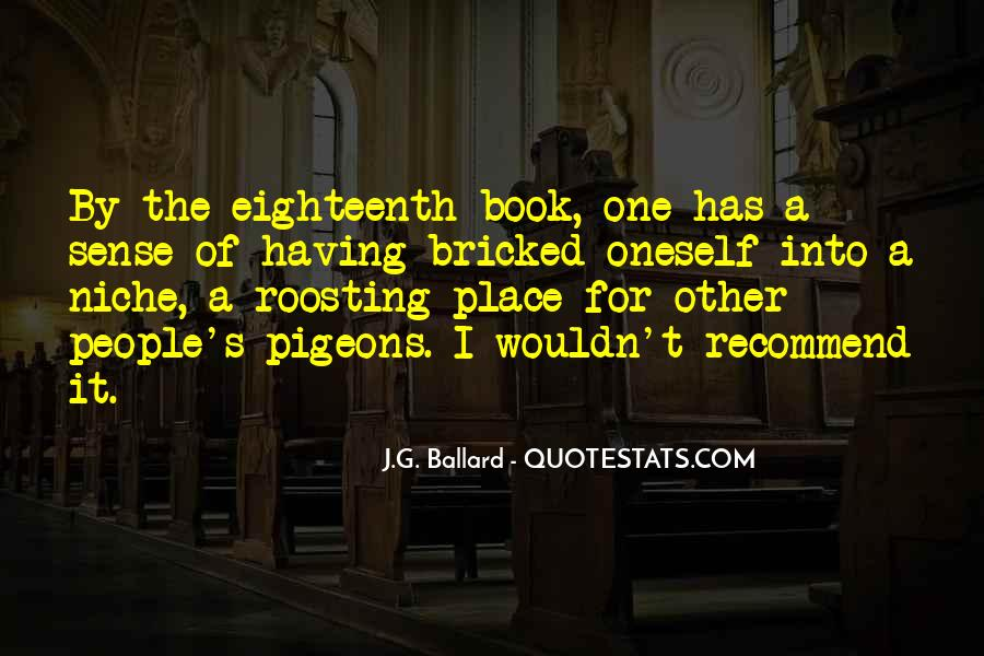 J.G. Ballard Quotes #1168840