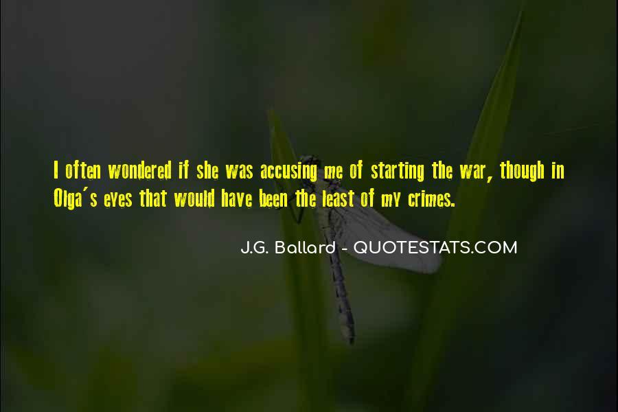 J.G. Ballard Quotes #1169750