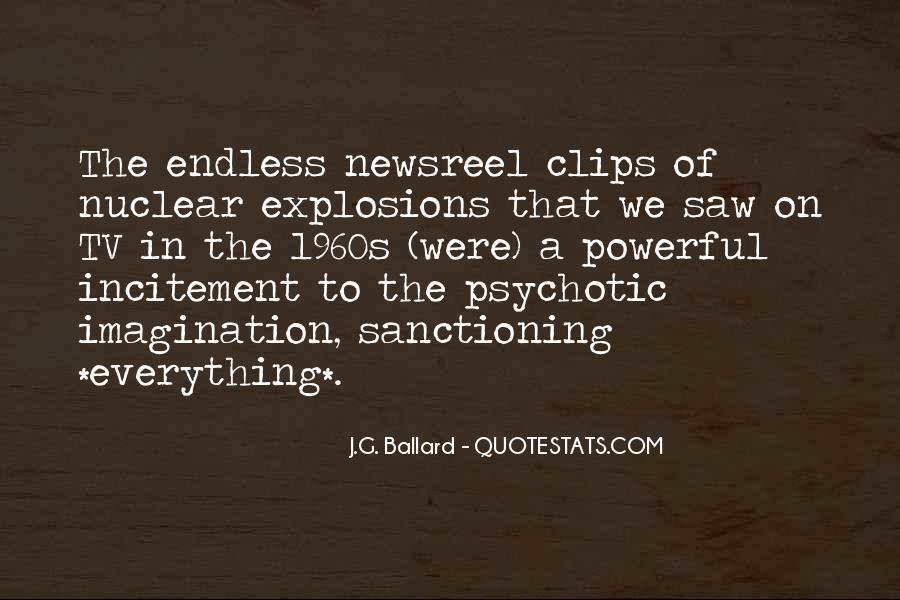 J.G. Ballard Quotes #1234587
