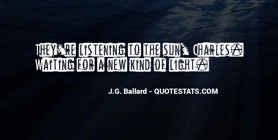 J.G. Ballard Quotes #1525771