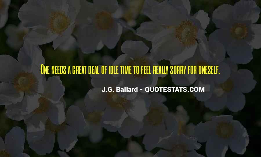 J.G. Ballard Quotes #1842108
