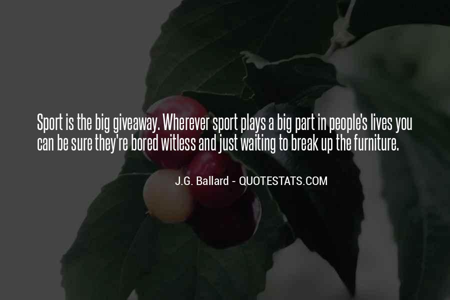 J.G. Ballard Quotes #378775