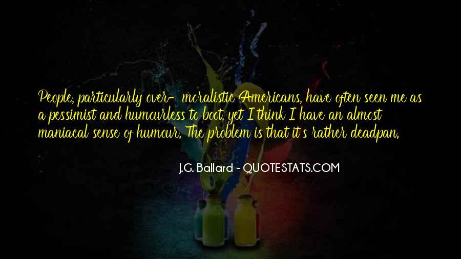 J.G. Ballard Quotes #798972