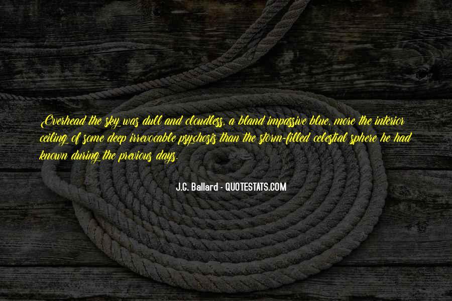 J.G. Ballard Quotes #954634