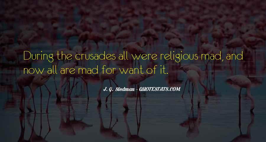J. G. Stedman Quotes #28045