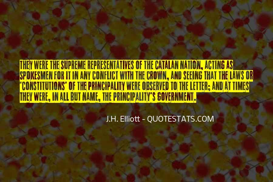 J.H. Elliott Quotes #977660
