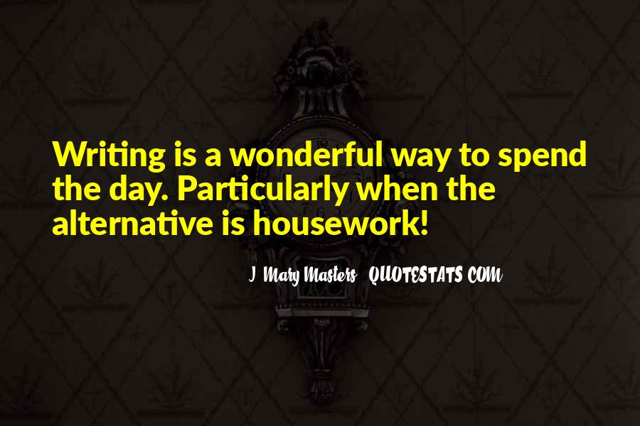 J. Mary Masters Quotes #1635397