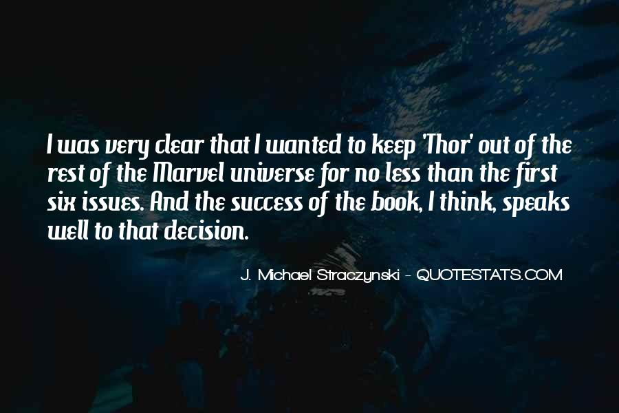 J. Michael Straczynski Quotes #1261161