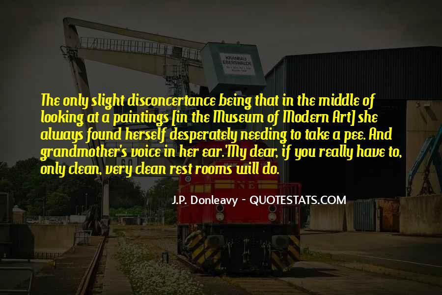 J.P. Donleavy Quotes #114979