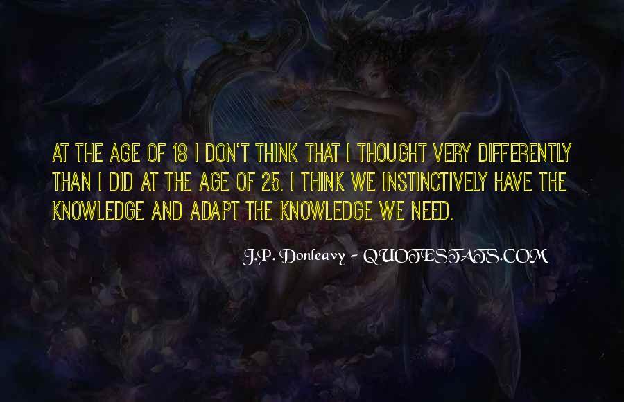 J.P. Donleavy Quotes #1227593